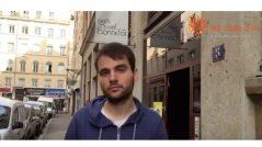 Romain, volontaire à l'Ecole Buissonnière de Lyon