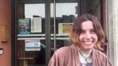 Romane, volontaire à l'Ecole Buissonnière de Lyon