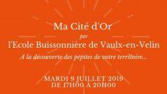 Ma Cité d'Or, par l'Ecole Buissonnière de Vaulx-en-Velin !